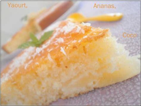 gateau moelleux yaourt ananas noix de coco ola