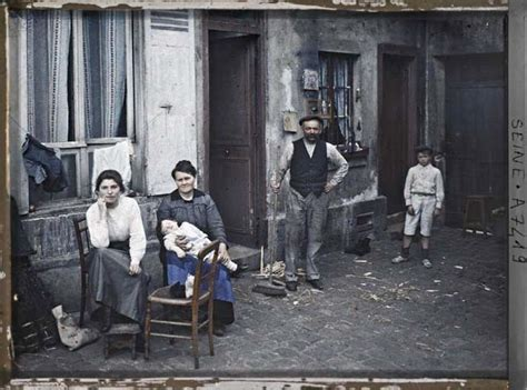 amazing in color in the early 20th century vintage everyday