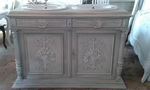 Meuble Salle De Bain Vintage. beautiful meuble salle de bains ...