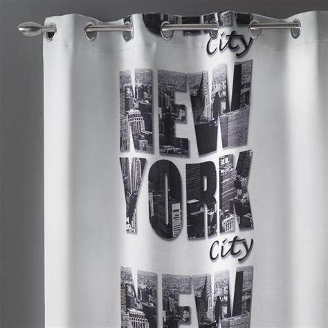 rideau occultant 140x260cm quot new york quot
