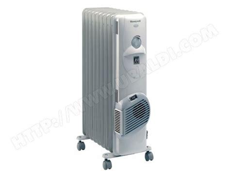 radiateur bain d huile honeywell hr40920fe 2000w soufflant pas cher ubaldi