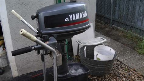 Yamaha Outboard Motor Videos by 4hp Yamaha Outboard Motor Youtube
