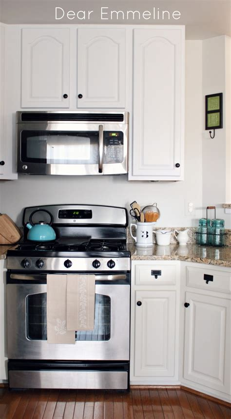 Kitchen Redo Part Five {painting The Cabinets With Nuvo
