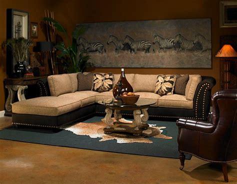 safari living room with decoist