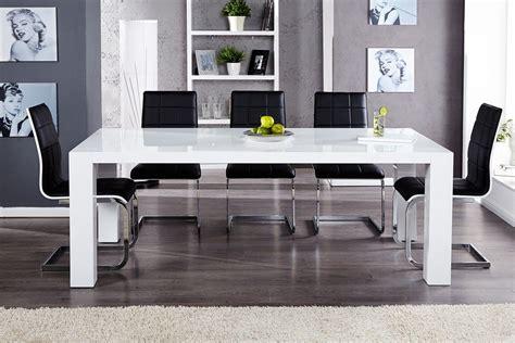table salle a manger blanche galerie et indogate salle manger blanc laque pas photo table manger