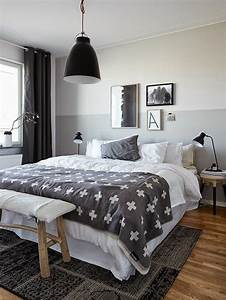 Graue Möbel Welche Wandfarbe : schlafzimmer wandfarbe ideen in 140 fotos ~ Markanthonyermac.com Haus und Dekorationen