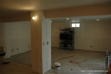 Installing Drywall For Your Finished Basement Small Bathroom Ideas Ikea Bright Colored Accessories Vinyl Flooring Uk Tiny Floor Plans Sink Decorating Tile Options Cushion For Beach Colors