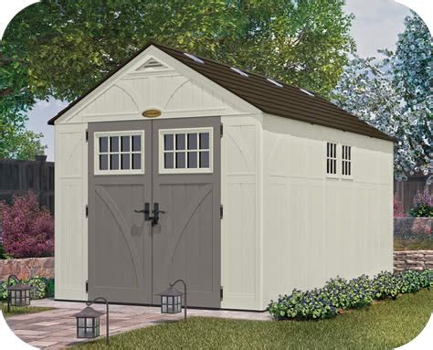 suncast 8x13 tremont resin shed kit w floor bms8135