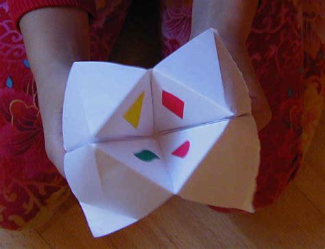 des pliage en papier