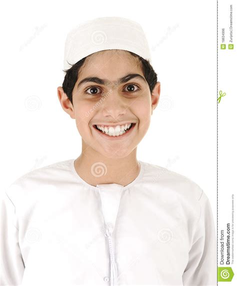 sourire arabe de gar 231 on image libre de droits image 18634996