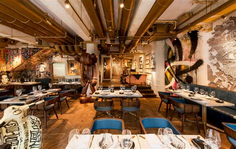 bibo restaurant in hong kong furnished with