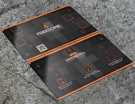 300+ Best Free Business Card Psd And Vector Templates