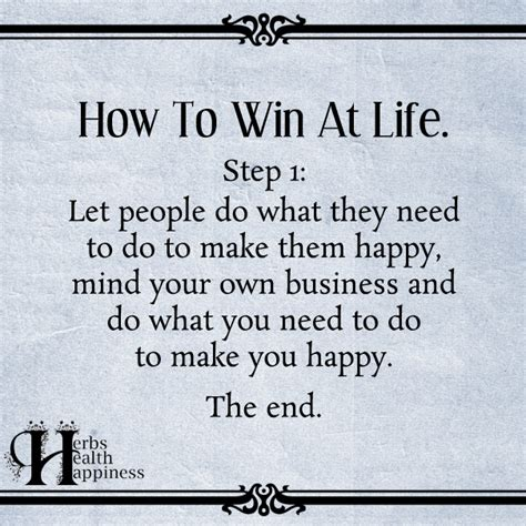How To Win At Life  ø Eminently Quotable  Quotes  Funny