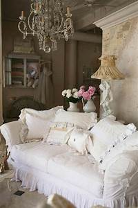 Shabby And Chic : french shabby chic style living room design ~ Markanthonyermac.com Haus und Dekorationen