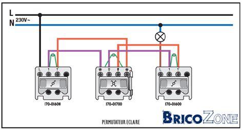 remplacement interrupteur 4 fils et 3 trous