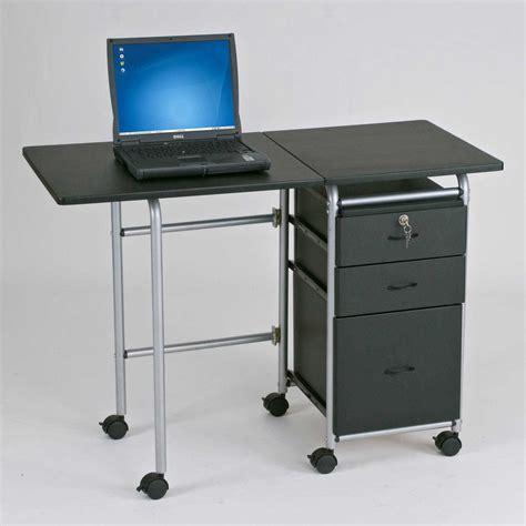 laptop desk on wheels whitevan
