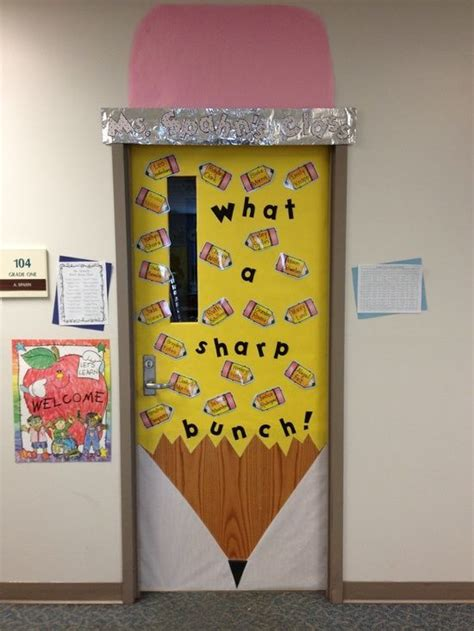 classroom decor ideas new door decoration for 1st day of school bulletin boards