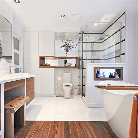agrandissement 2 en 1 pour la salle de bain salle de bain avant apr 232 s d 233 coration et