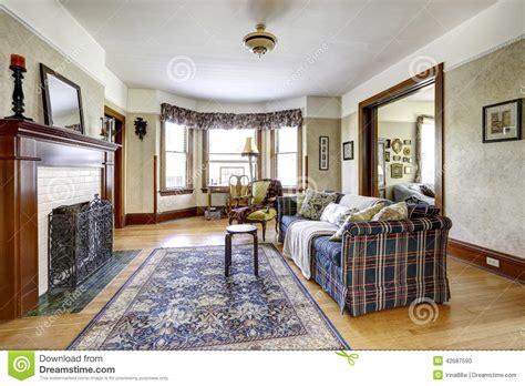 int 233 rieur de salon dans la vieille maison am 233 ricaine photo stock image 42687590