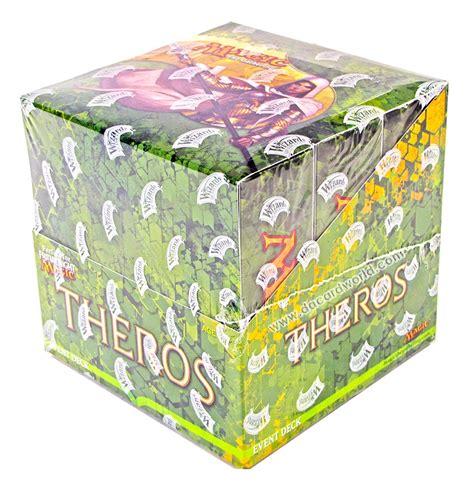 magic the gathering theros event deck box da card world