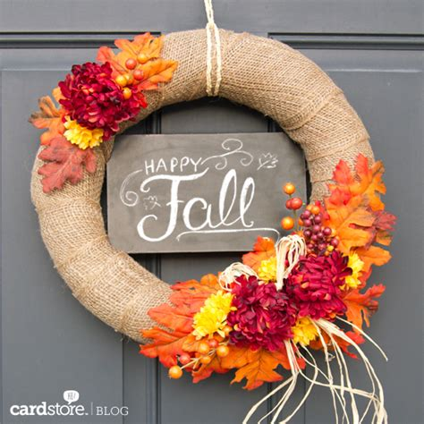7 Diy Fall Wreaths They Won't Believe You Made Yourself Huffpost