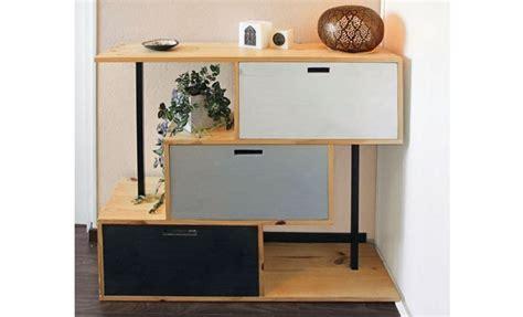 fabriquer un meuble de rangement pour une entr 233 e