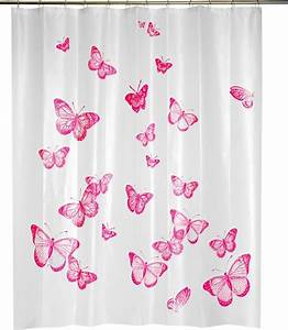 Kinderzimmer Gardinen Schmetterling : home collections duschvorhang mit schmetterlingen bild 12 sch ner wohnen ~ Markanthonyermac.com Haus und Dekorationen