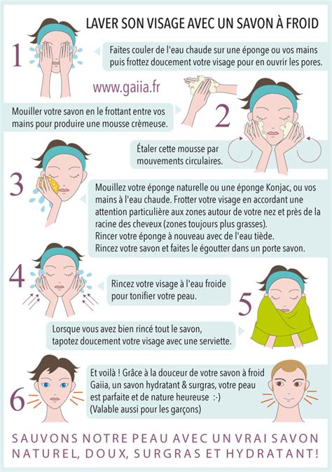 comment laver visage avec un savon 224 froid gaiia
