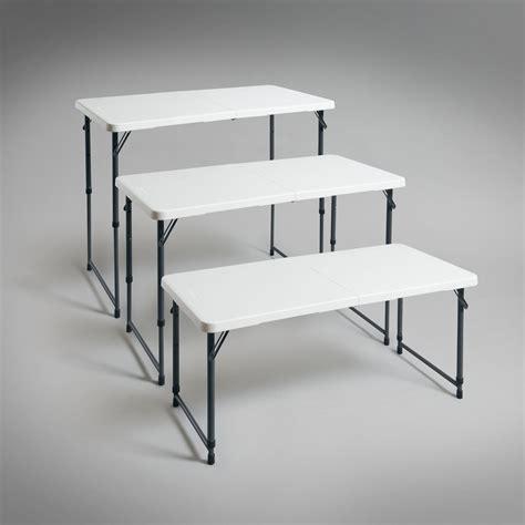 acheter table pliante r 233 glable en hauteur en ligne pas cher