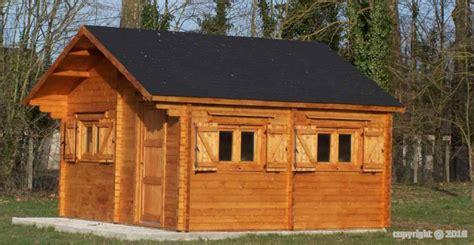 abri jardin bois chalet magny 5x6 m 30m2 sans plancher