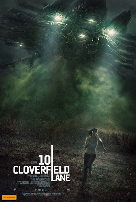International Poster And Trailer For '10 Cloverfield Lane