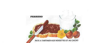 etiquettes nutella vide