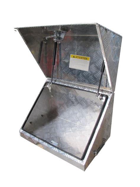 coffre en aluminium pour treuil 233 lectrique et batterie