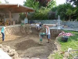 Pool Selber Bauen : pool selber bauen how to build a pool part one teil 1 youtube ~ Markanthonyermac.com Haus und Dekorationen