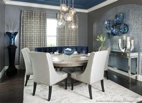 chaise salle a manger contemporaine with classique chic salle 192 manger d 233 coration de la maison