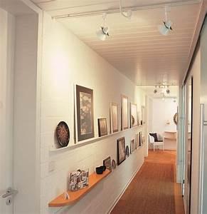 Flur Wandgestaltung Ideen : beleuchtung im flur so tappen sie nicht im dunkeln planungswelten ~ Markanthonyermac.com Haus und Dekorationen