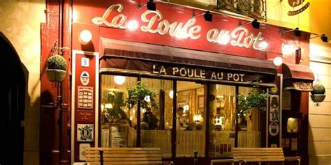 la poule au pot 9 rue vauvilliers les halles restaurant reviews phone number