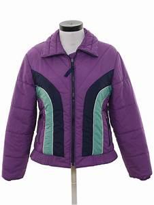 Vintage 80s Jacket: 80s -Emilio D Italia- Womens purple ...
