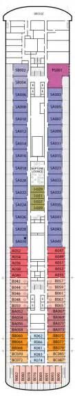 veendam america line deck plans cruiseline