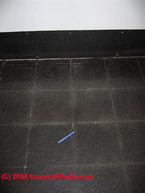 asbestos content in floor tile mastics cutback adhesive or roofing sealants mastics
