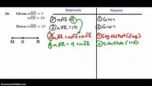 Proof: Segment Addition Postulate - YouTube