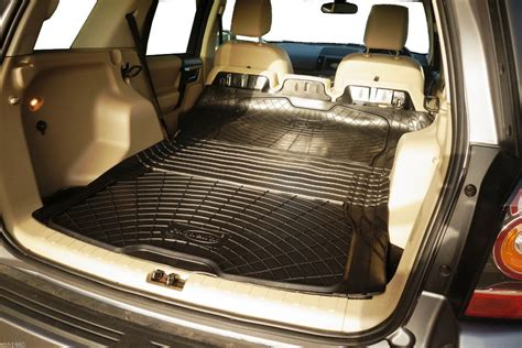 Rubber Boot Liner For Freelander 2 by 3pc Boot Liner Load Mat Bumper Protector Land Rover