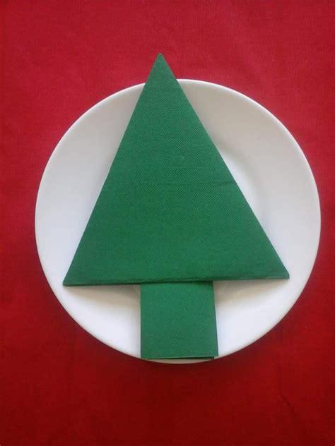 no 235 l pliage serviette sapin plat vert accessoires de maison par dubo arts
