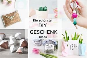 Geburtstagsgeschenk Basteln Freundin : diy geschenke kreative geschenkideen zum selbermachen ~ Markanthonyermac.com Haus und Dekorationen