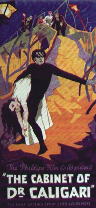 the cabinet of dr caligari german expressionism visually and thematically of pai