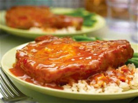 c 244 tes de porc 224 l orange recettes de cuisine fran 231 aise