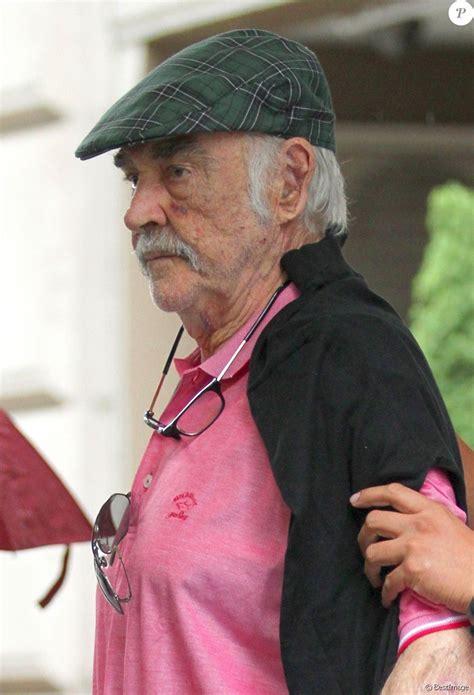 Sean Connery, 87 ans  Rare apparition du premier James