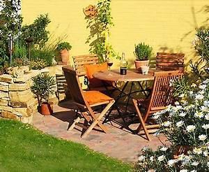 Terrassengestaltung Kleine Terrassen : terrasse ideen inspiration und praktische tipps living at home ~ Markanthonyermac.com Haus und Dekorationen