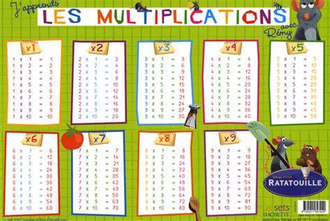 j apprends les multiplications avec r 233 my disney pixar payot
