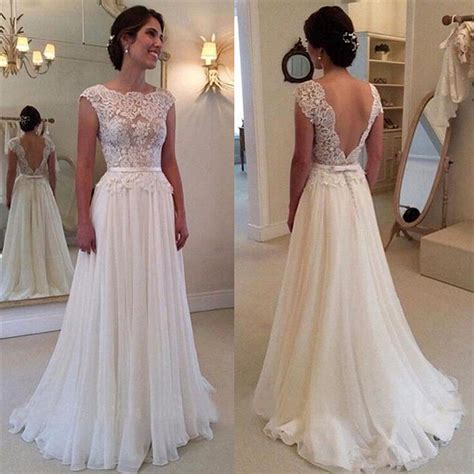 Lace Chiffon Elegant Wedding Dress With Bowknot Sash Open. Romantic Flowy Wedding Dresses. Lace Wedding Dresses On Pinterest. Celebrity Wedding Dresses Gallery. Backless Wedding Gown Calligraphy By Jennifer. Old Wedding Dresses For Sale Cheap. Mermaid Wedding Dresses On Pinterest. Wedding Dress Guest Outfits. Lace Wedding Dress Low Back